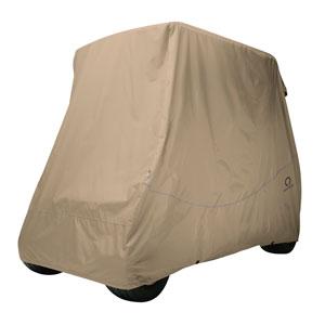 Fairway Golf Car Quick-Fit Cover, Short Roof, Khaki