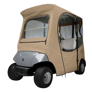 Cypress Khaki Yamaha Drive Golf Car Enclosure