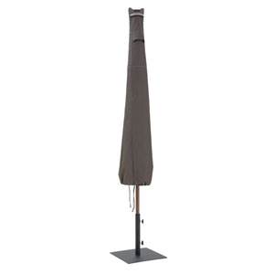 Maple Taupe One-Size Patio Umbrella Cover