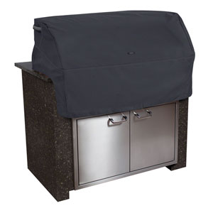 Poplar Black Small Built in Grill Top Cover