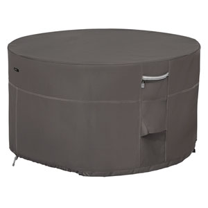 Maple Taupe One-Size Full Coverage Fire Pit Table Cover