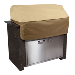 Ash Earth Toned Small Island Grill Top Cover