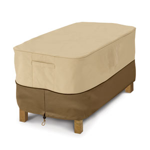 Ash Earth Toned Patio Coffee Table Cover