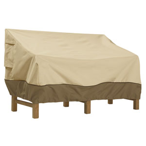 Ash Earth Toned X-Large Patio Sofa Cover