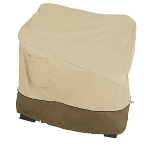 Ash Earth Toned Patio Corner Sectional Seat Cover