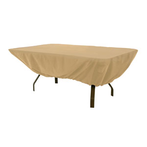 Terrazzo Sand Rectangular Patio Table Cover