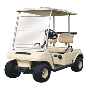 Cypress Standard Portable Golf Car Windshield