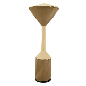 Ash Earth Toned Stand Up Patio Heater Cover