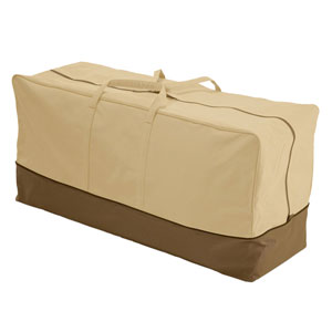 Veranda Earth Toned Patio Cushion Bag