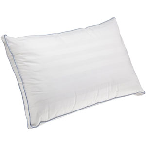 Dual Comfort White Supreme Gusseted King Bed Pillow