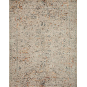 Axel Silver and Spice 2 Ft. 6 In. x 8 Ft. Area Rug