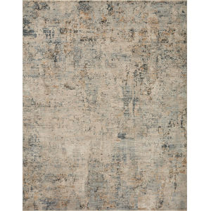 Axel Beige and Sky 2 Ft. 6 In. x 10 Ft. Area Rug