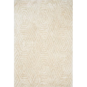 Caspia Ivory Rectangle: 3 Ft. 6 In. x 5 Ft. 6 In. Rug