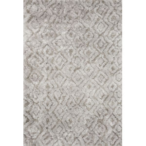 Caspia Silver Rectangle: 9 Ft. 3 In. x 13 Ft. Rug