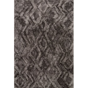 Caspia Charcoal Rectangle: 3 Ft. 6 In. x 5 Ft. 6 In. Rug