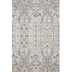 Cole Ivory and Multicolor 9 Ft. 6 In. x 12 Ft. 8 In. Power Loomed Rug