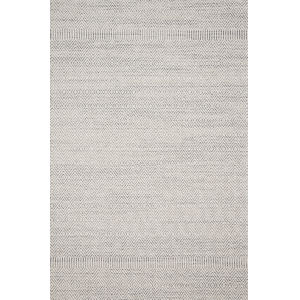 Cole Gray and Bone 5 Ft. x 7 Ft. 6 In. Power Loomed Rug