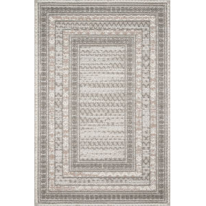 Cole Gray and Multicolor 5 Ft. x 7 Ft. 6 In. Power Loomed Rug