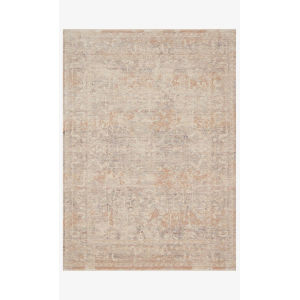 Faye Beige and Blue Rectangle: 9 Ft. 6 In. x 13 Ft. 1 In. Rug