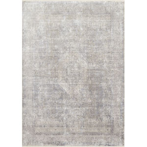 Franca Silver and Pebble Rectangular 3Ft. 7In. x 5Ft. 8In. Rug