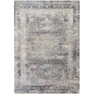Franca Charcoal Sky Rectangular 3Ft. 7In. x 5Ft. 8In. Rug