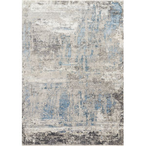 Franca Gray Ocean Rectangular 5Ft. 3In. x 7Ft. 9In. Rug
