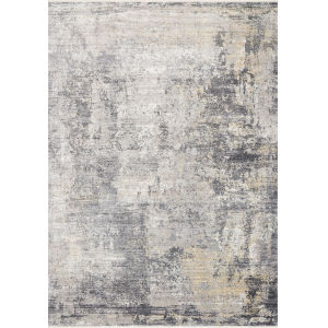 Gemma Neutral 2 Ft. 8 In. x 7 Ft. 9 In. Power Loomed Rug