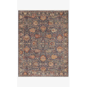 Giada Gray and Multicolor Rectangle: 6 Ft. 3 In. x 9 Ft. Rug