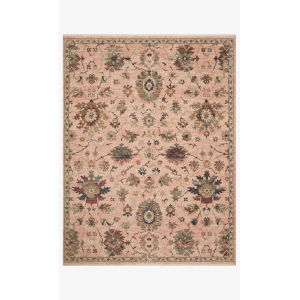 Giada Blush and Multicolor Round: 5 Ft. x 5 Ft.  Rug