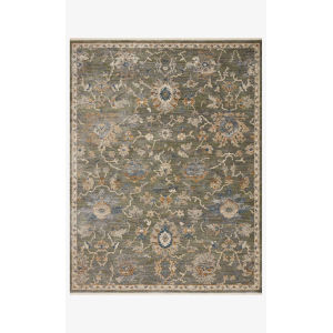 Giada Sage and Gold Round: 7 Ft. 9 In. x 7 Ft. 9 In.  Rug