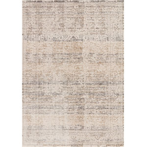 Homage Beige Gray Rectangular: 2 Ft. 6 In. x 16 Ft. Rug