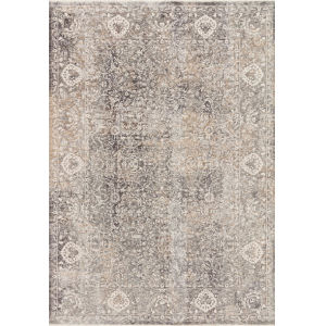 Homage Stone Ivory Rectangular: 5 Ft. 3 In. x 7 Ft. 6 In. Rug