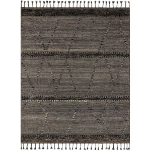 Iman Gray Multicolor Square: 1 Ft. 6 In. x 1 Ft. 6 In. Rug