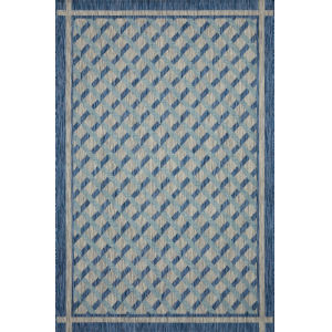 Isle Blue Rectangle: 7 Ft. 1 x 10 Ft. 9 In. Rug