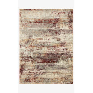 Jasmine Dove and Rust Runner: 2 Ft. 7 In. x 7 Ft. 8 In.