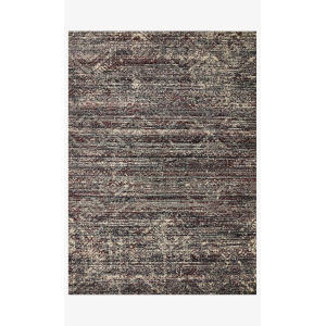 Jasmine Midnight and Bordeaux Runner: 2 Ft. 7 In. x 7 Ft. 8 In.