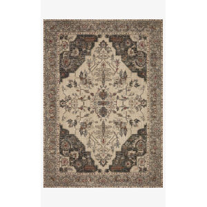 Jasmine Dove and Denim Rectangle: 5 Ft. 3 In. x 7 Ft. 8 In. Rug