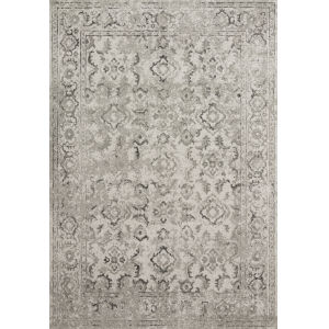 Joaquin Silver and Gray 5 Ft. 3 In. x 7 Ft. 8 In. Power Loomed Rug