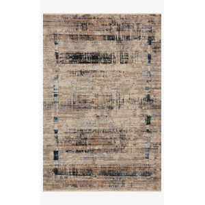 Leigh Granite and Slate Rectangle: 5 Ft. 3 In. x 7 Ft. 6 In. Rug