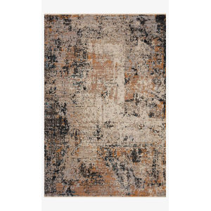 Leigh Silver and Multicolor Rectangle: 5 Ft. 3 In. x 7 Ft. 6 In. Rug