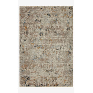 Leigh Ivory and Granite Rectangle: 6 Ft. 7 In. x 9 Ft. 6 In. Rug