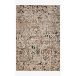 Leigh Ivory and Multicolor Rectangle: 5 Ft. 3 In. x 7 Ft. 6 In. Rug