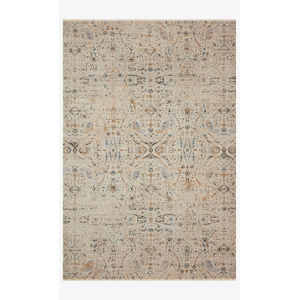 Leigh Ivory and Straw Runner: 2 Ft. 7 In. x 10 Ft. 10 In.