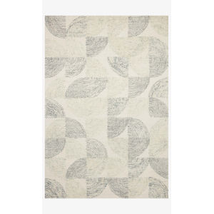 Milo Slate and Denim Rectangle: 7 Ft. 9 In. x 9 Ft. 9 In. Rug