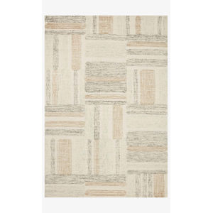 Milo Slate and Olive Rectangle: 7 Ft. 9 In. x 9 Ft. 9 In. Rug