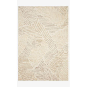 Milo Olive and Natural Rectangle: 5 Ft. x 7 Ft. 6 In. Rug