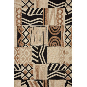 Nala Tobacco Natural Rectangular: 7 Ft. 9 In. x 9 Ft. 9 In. Rug
