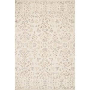 Norabel Ivory Neutral Rectangular: 5 Ft. x 7 Ft. 6 In. Rug