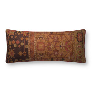 Rust 13 In. x 35 In. Throw Pillow Cover
