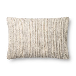 Natural 16In. x 26In. Pillow Cover